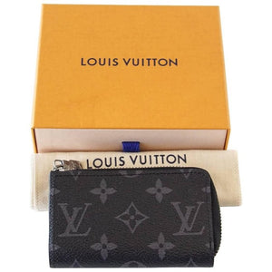 Louis Vuitton Black Monogram Car Key Case