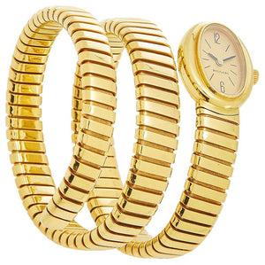 Bulgari Gold Tubogas Ladies Watch