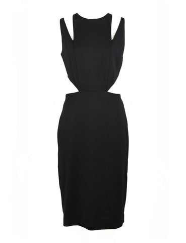 Cushnie et Ochs Black Cut Out Dress