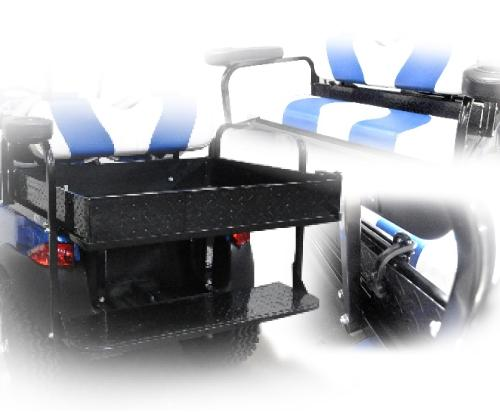 Expandable Cargo Box for Madjax First Generation Rear Seats