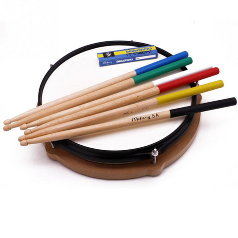 1 Pair Maple Wood Drum Sticks 5A 7A Anti-slip Electronic Drum Rack Drumsticks Musical Sticks Percussion Instruments Accessories