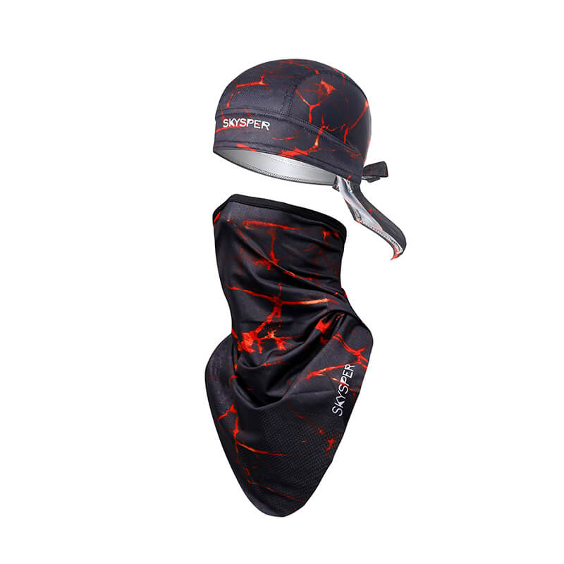 Motorcycle Head Wraps | Half Face Mask | Biker Bandana Quickly Dry Sun UV Protection