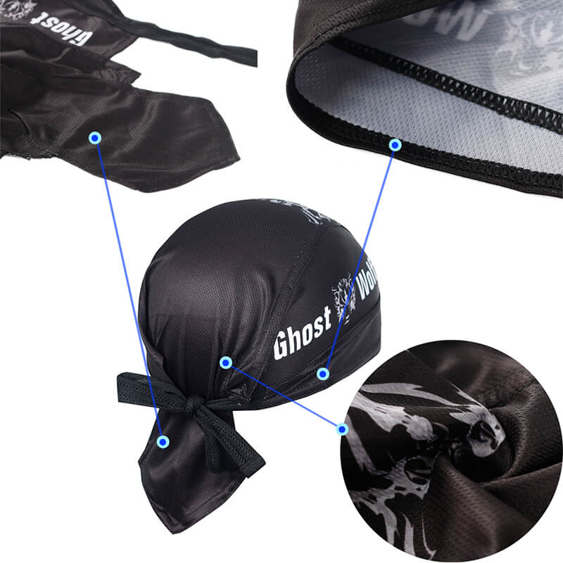 Biker Bandana | Motorcycle Head Wraps and Face bandana Quickly Dry Sun UV Protection