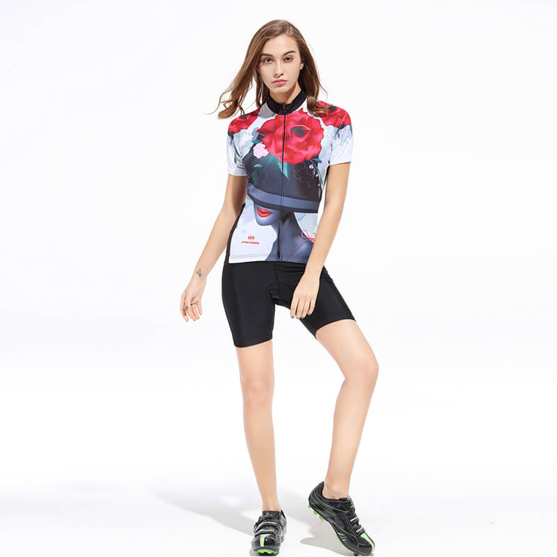 Women's Short Sleeve Cycling Kit - Noble