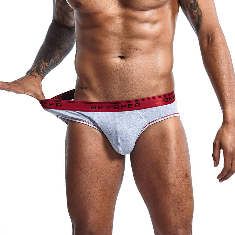 Men Cotton Jock Strap G String Thong Gay Underwear 3 Pack