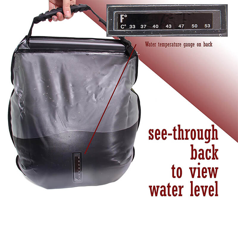 Camping Shower | 5 Gallon Solar Shower Bag | Portable Shower