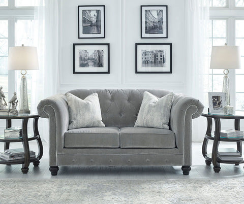 Shop Ashley Furniture Tiarella Loveseat at Mealey's Furniture