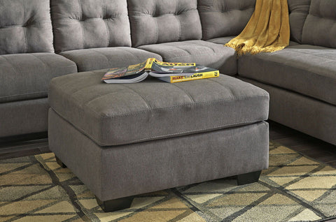 Shop Ashley Furniture Maier Charcoal Oversized Accent Ottoman at Mealey's Furniture