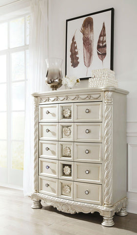 Shop Ashley Furniture Cassimore Five Drawer Chest at Mealey's Furniture