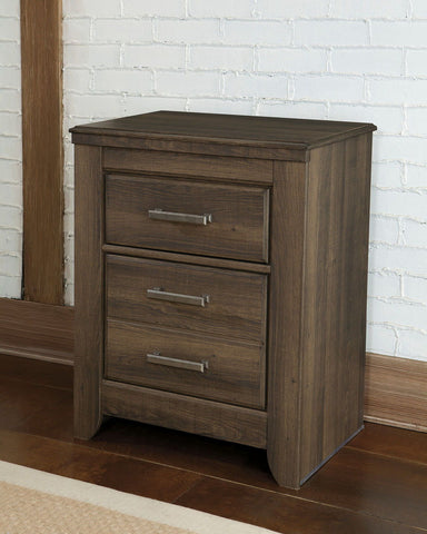 Shop Ashley Furniture Juararo Two Drawer Night Stand at Mealey's Furniture