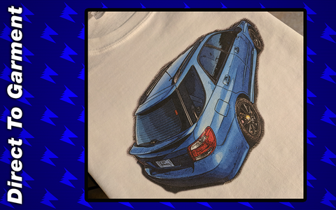 Artistic 2007 WRX Wagon design - Shirts by AnubisBlue Designs