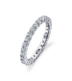 Alchemy Diamond Eternity Band in Platinum