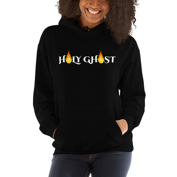 Holy Ghost Hoodie For Women | Christian Hoodie | Holy Ghost - Kingdom Christian Clothing Store