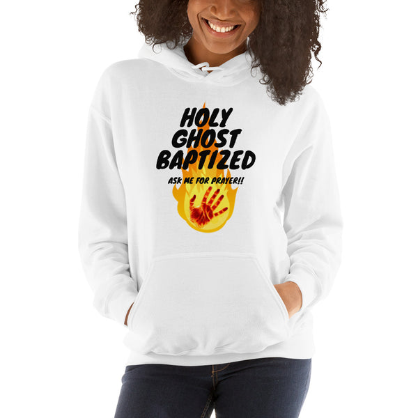 Holy Ghost Baptized Hoodie | Christian Hoodie For Women | Holy Ghost - Kingdom Christian Clothing Store