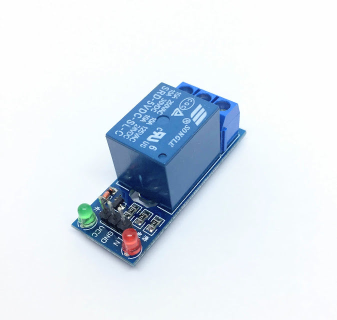 Relay for Raspberry Pi or Arduino 1-Channel 5V Relay Module 250V/10A