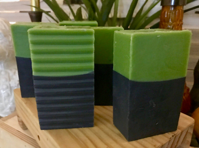 Tea Tree and Activated Charcoal Detox Soap Bar  - Cowtail Soap Bar