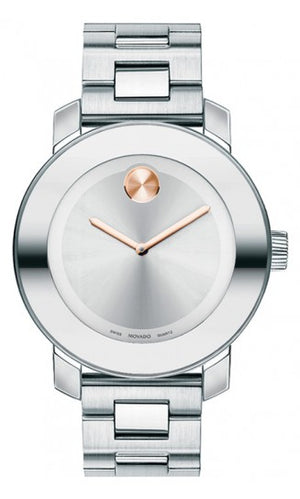 Movado Bold SS Silver/Rose Gold Small 3600084