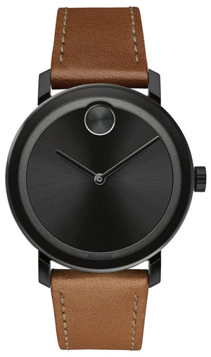 Movado Bold Leather
