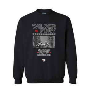 Wilder Vs. Fury - Stars - Unisex Crewneck Sweatshirt