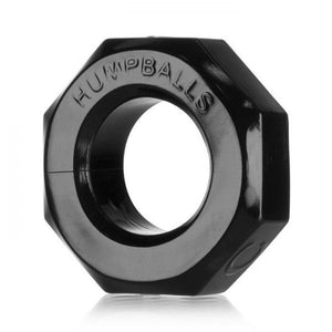 Hump Balls Cock Ring Black