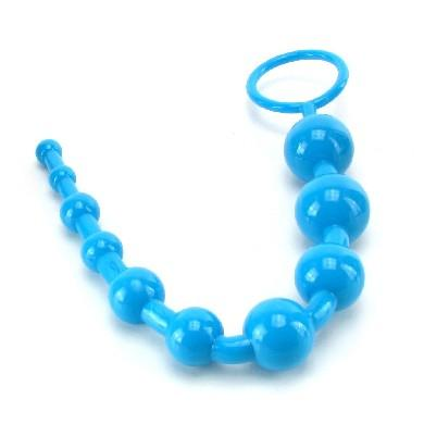 Shanes World Advanced Anal 101 Beads-Blue