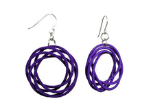 Load image into Gallery viewer, 3D Printed Jewelry Looped Spiral Earrings