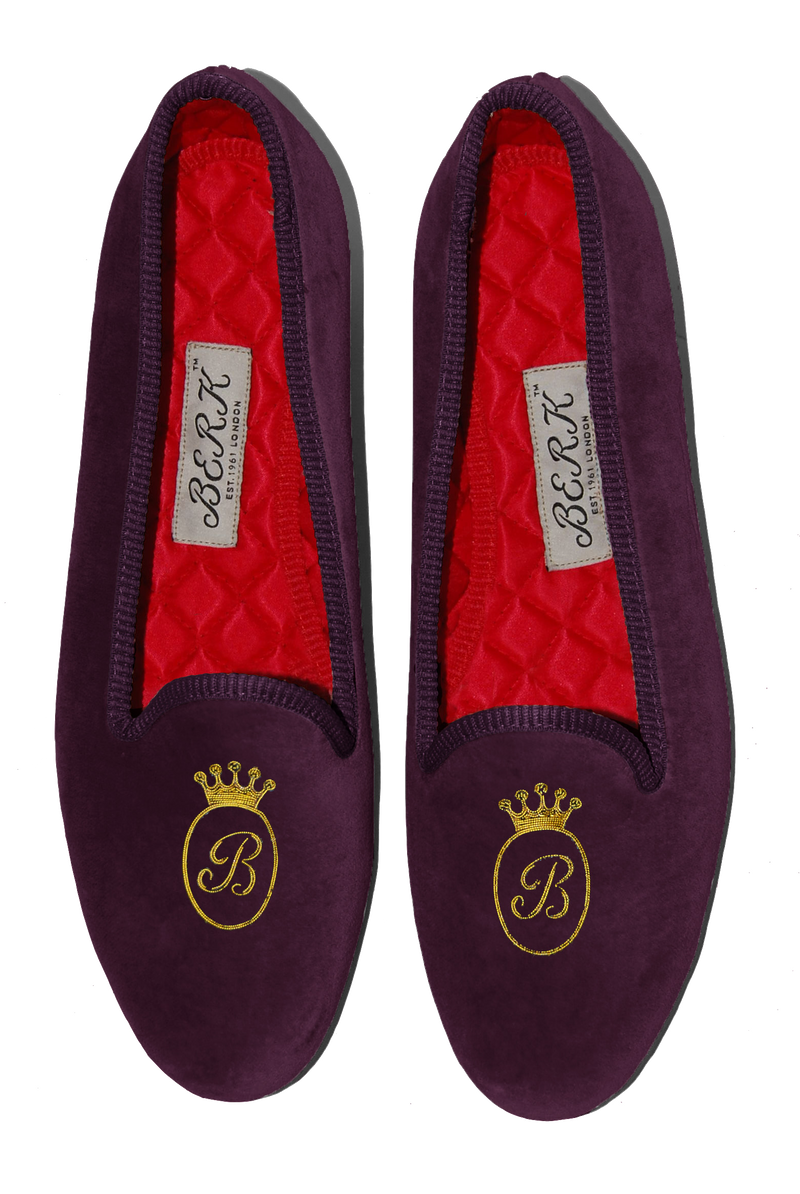 Princess Initial Slippers