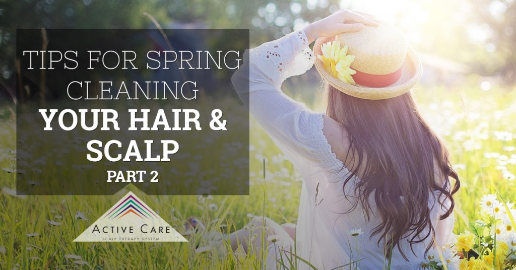 Tips for Spring Cleaning Your Hair & Scalp, Part 2