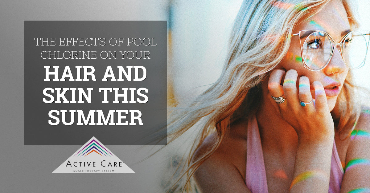 The Effects of Pool Chlorine on Your Hair and Skin This Summer