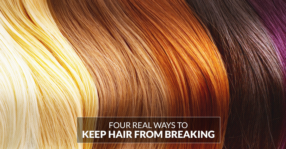 4 Ways to Actually Prevent Hair Breakage
