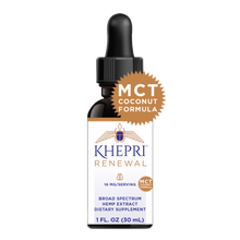 Load image into Gallery viewer, KR Broad Spectrum Hemp Extract 16+mg/serving 1 FL OZ (30mL) BLENDED WITH MCT COCONUT OIL