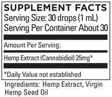 Load image into Gallery viewer, KR Broad Spectrum Hemp Extract 9+mg/serving 1 FL OZ (30mL)