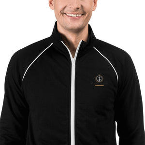 The Ultimate Lifestyle Collection Piped Fleece Jacket