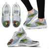 Mini Macaw Parrot Print Christmas Running Shoes For Women-Free Shipping-Paww-Printz-Merchandise