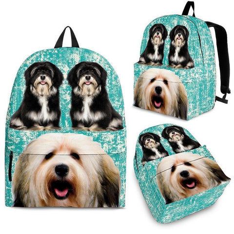 Havanese Dog Print Backpack-Express Shipping-Paww-Printz-Merchandise