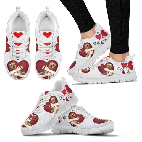 Valentine's Day Special-Yorkshire Terrier Print Running Shoes For Women-Free Shipping-Paww-Printz-Merchandise