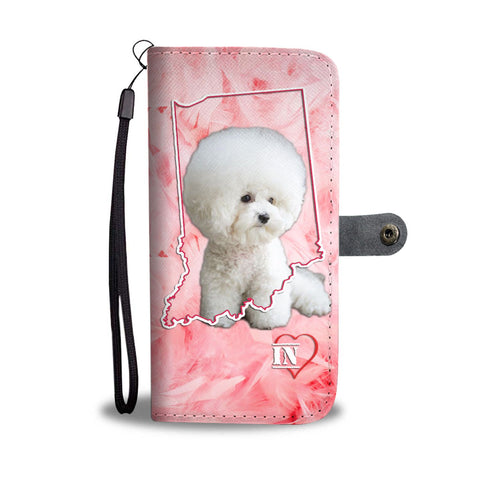 Bichon Frise Print Wallet Case-Free Shipping- IN State
