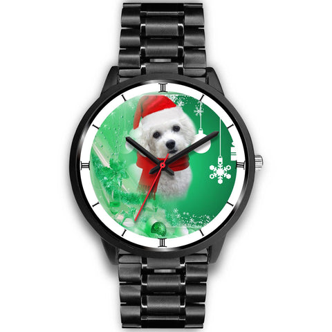 Cute Bichon Frise Christmas Special Wrist Watch-Free Shipping