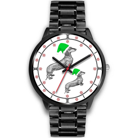 Dachshund Christmas Special Wrist Watch-Free Shipping