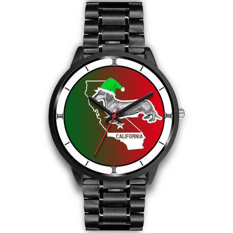 Dachshund California Christmas Special Wrist Watch-Free Shipping