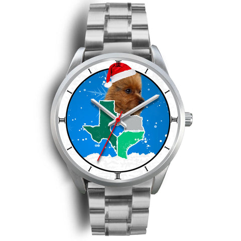 Australian Terrier Texas Christmas Special Wrist Watch-Free Shipping