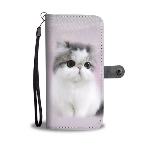 Exotic Shorthair Cat Print Wallet Case-Free Shipping