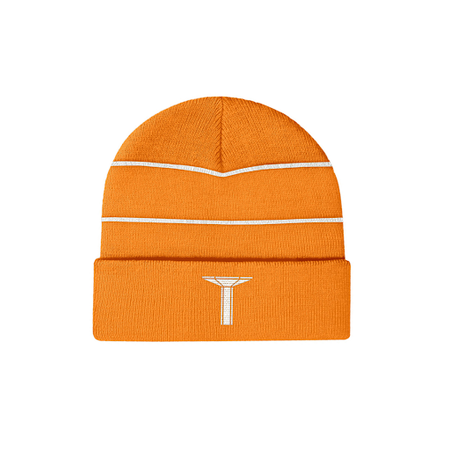LLSB Pillar Beanie 3M Reflective Orange