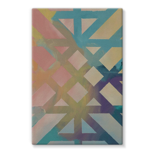 Kaleidoscope Stretched Canvas