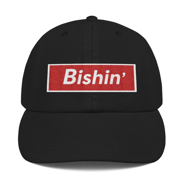 Bishin' Champion Dad Cap - Only At Krooked Panda