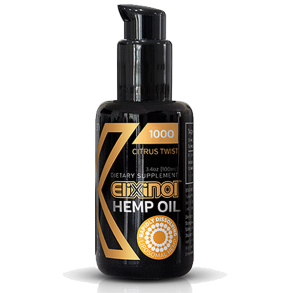 Elixinol Hemp Oil Liposomes 1000mg – Citrus Twist