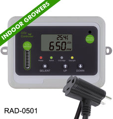 Day Night CO2 Monitor & Controller for Greenhouses