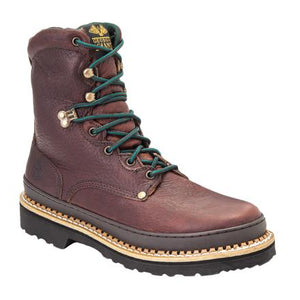 "Georgia Giant Steel Toe 8"" Lace Up Work Boot G8374"