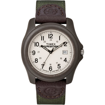 Timex Expedition Unisex Camper Brown-Olive Green [T49101]-Timex-Point Supplies Inc.