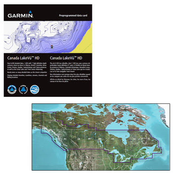 Garmin Canada LakeV HD g3 - microSD-SD [010-C1113-00]-Garmin-Point Supplies Inc.